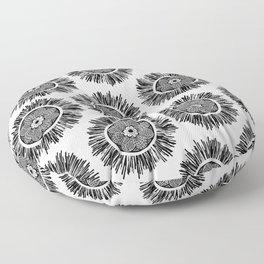 Zenstar Black & White Floor Pillow