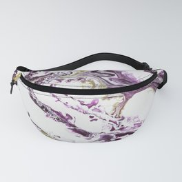 Fuid Expressions - Purple and Gold Fanny Pack