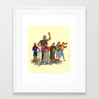 goonies Framed Art Prints featuring the goonies by Robert Deutsch