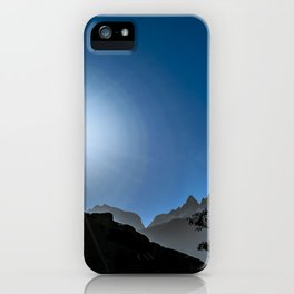 Patagonia Landscape Scene, Aysen, Chile iPhone Case