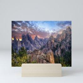 Needles Highway Sunrise - South Dakota Mini Art Print