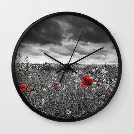 Fields Wall Clock