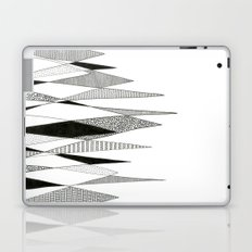 Spikes and Pines (pen on paper) Laptop & iPad Skin