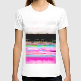 abstract landscape colorful modern painting T-shirt