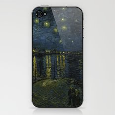 Starry Night Over the Rhone by Van Gogh iPhone & iPod Skin