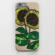sunflowers Slim Case iPhone 6s