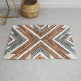 Urban Tribal Pattern No.4 - Wood Rug