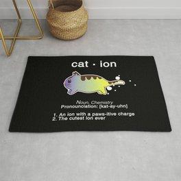Biology Anime Cat Ion Kitty Kitten Chemistry Gift Rug