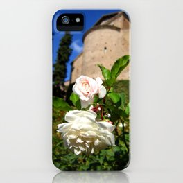 Roses at Villa d'Este iPhone Case