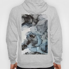 Smoke Show - Alcohol Ink Painting Hoody