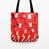 lantern Tote Bags featuring Lantern by strentse