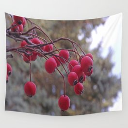 Fall berries Wall Tapestry