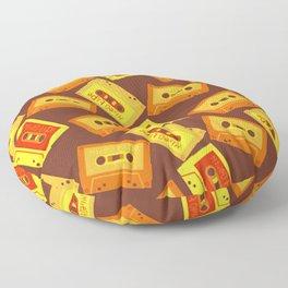 Cassette world Floor Pillow