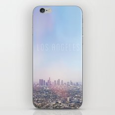 Los Angeles Skyline Typography  iPhone & iPod Skin