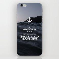 Skilled Sailor iPhone & iPod Skin