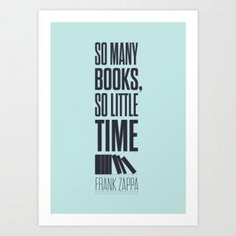 Lab No. 4 - Frank Zappa Quote Typography Print Poster Art Print