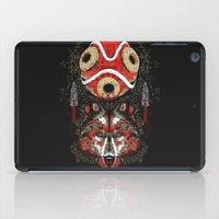 mononoke iPad Cases featuring Mononoke Totem by Frederick Hoffman