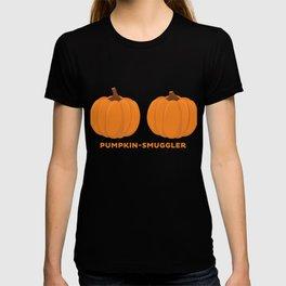Womens Pumpkin Smuggler design - Halloween Costume for Women T-shirt