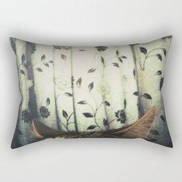 The Waking Sunrise Rectangular Pillow