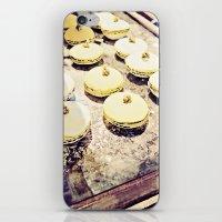 macaron iPhone & iPod Skins featuring macaron by inourgardentoo