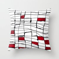 text Throw Pillows featuring text by Ivano Nazeri