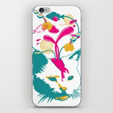 Liquid thoughts:Cat iPhone & iPod Skin