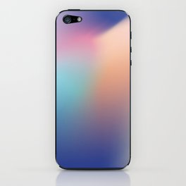 Gradient flow iPhone Skin