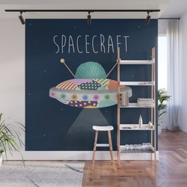 Spacecraft Wall Mural