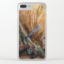 Ochre Treehouse Clear iPhone Case