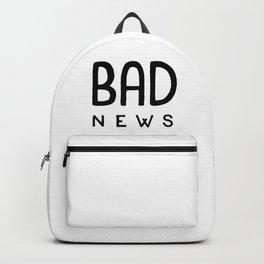 Bad News Backpack
