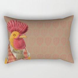 Punx Not Dead Rectangular Pillow