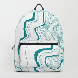 Tree Rings of Turquoise Backpack