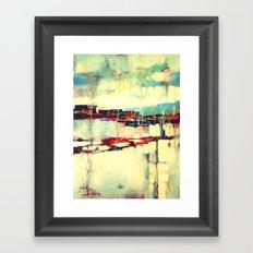Warsaw III - abstraction Framed Art Print