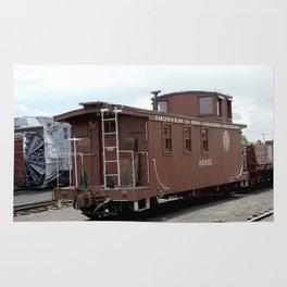 Relic of the Historic Denver & Rio Grande Western NG Railroad Rug