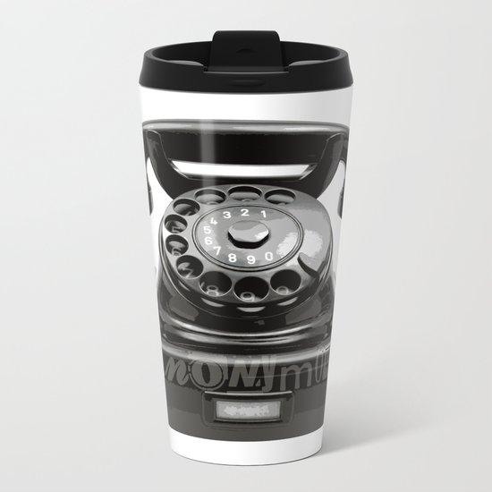 Anonymous Metal Travel Mug