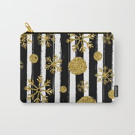 Christmas sparkle and snowflakes Carry-All Pouch