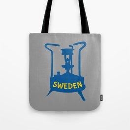 Sweden   Brass Pressure Stove Tote Bag