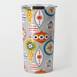 christmas ornaments pattern Travel Mug