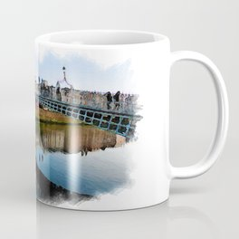 Dublin Ha'Penny Bridge Coffee Mug