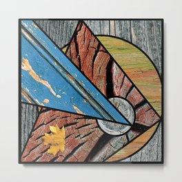 Angles of Nature ~ Design 01 Wood Metal Print