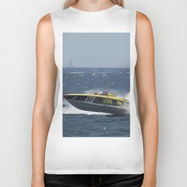 Powerboat Racing Biker Tank