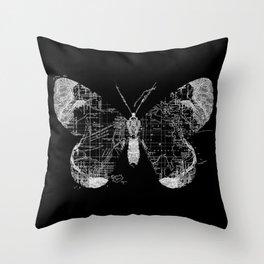 Butterfly Wanderlust Throw Pillow
