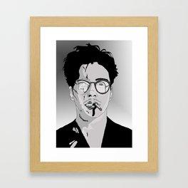 Robert Downey Jr Framed Art Print