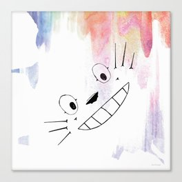 Totoro Love Canvas Print