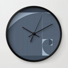 Espiral Áurea Wall Clock