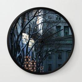 Trees #2 Wall Clock