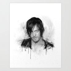 TwD Daryl Dixon. Art Print