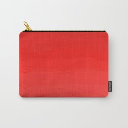 Glowing Red Lipstick Carry-All Pouch