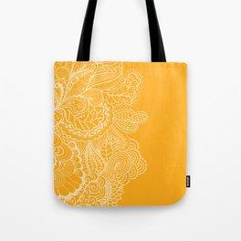 Marigold Mehndi Tote Bag