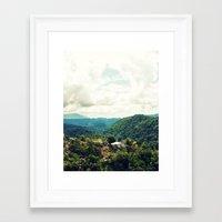 jamaica Framed Art Prints featuring Jamaica  by Matthew Ingraham